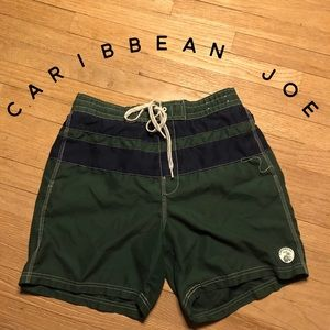 L Caribbean Joe swim trunks